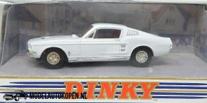 1967 Ford Mustang Fast Back (Wit) (11cm) 1/43 – The Dinky Collection – Matchbox Collectibles