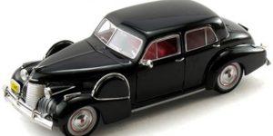 1940 Cadillac Fleetwood 60 Special (Zwart) (16 cm) 1/32 Signature Models