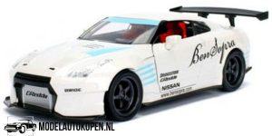 2009 Nissan GT-R Ben Sopra (Wit) 1/24 JDM Tuners