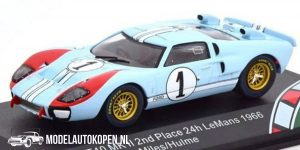 Ford GT40 MK II (2nd Place 24h LeMans) 1966 Miles/Hulme (10 cm) 1/43 CMR