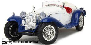 Alfa Romeo 2300 Spider 1932 (Crème) 1/18 Bburago + Showcase