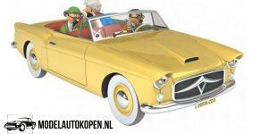 Kuifje/TinTin - De Bordurische auto uit De Zaak Zonnebloem (10 cm) 1/43 Atlas