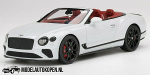 Bentley Continental GT Convertible (Ice White) (30 cm) 1/18 Top Speed