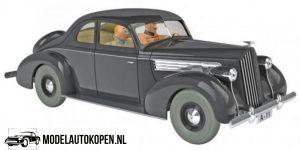 Kuifje/TinTin - De Packard van koning Muskar uit De Scepter van Ottokart (10 cm) 1/43 Atlas