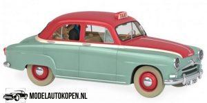 Kuifje/TinTin - De Simca-taxi uit De Zaak Zonnebloem 1954 (10 cm) 1/43 Atlas
