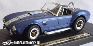 Shelby Cobra 427S/C 1964 (Blauw/Wit) (22 cm) 1/18 Road Tough Collection