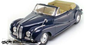 BMW 502 1955 (Donkerblauw) (24 cm) 1/18 Maisto Special Edition