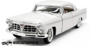 1956 Chrysler 300B (Wit) (30 cm) 1/18 Maisto Special Edition