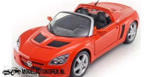 Opel Speedster (Oranje) (21 cm) 1/18 Maisto Super Edition