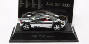Audi AVUS Quattro (Zilver) (10 cm) 1/43 Revell Limited Edition