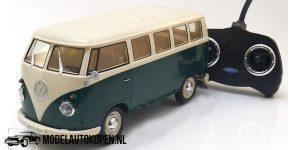 Volkswagen Classic T1 Bus (groen) 1:16 Welly Remote Control